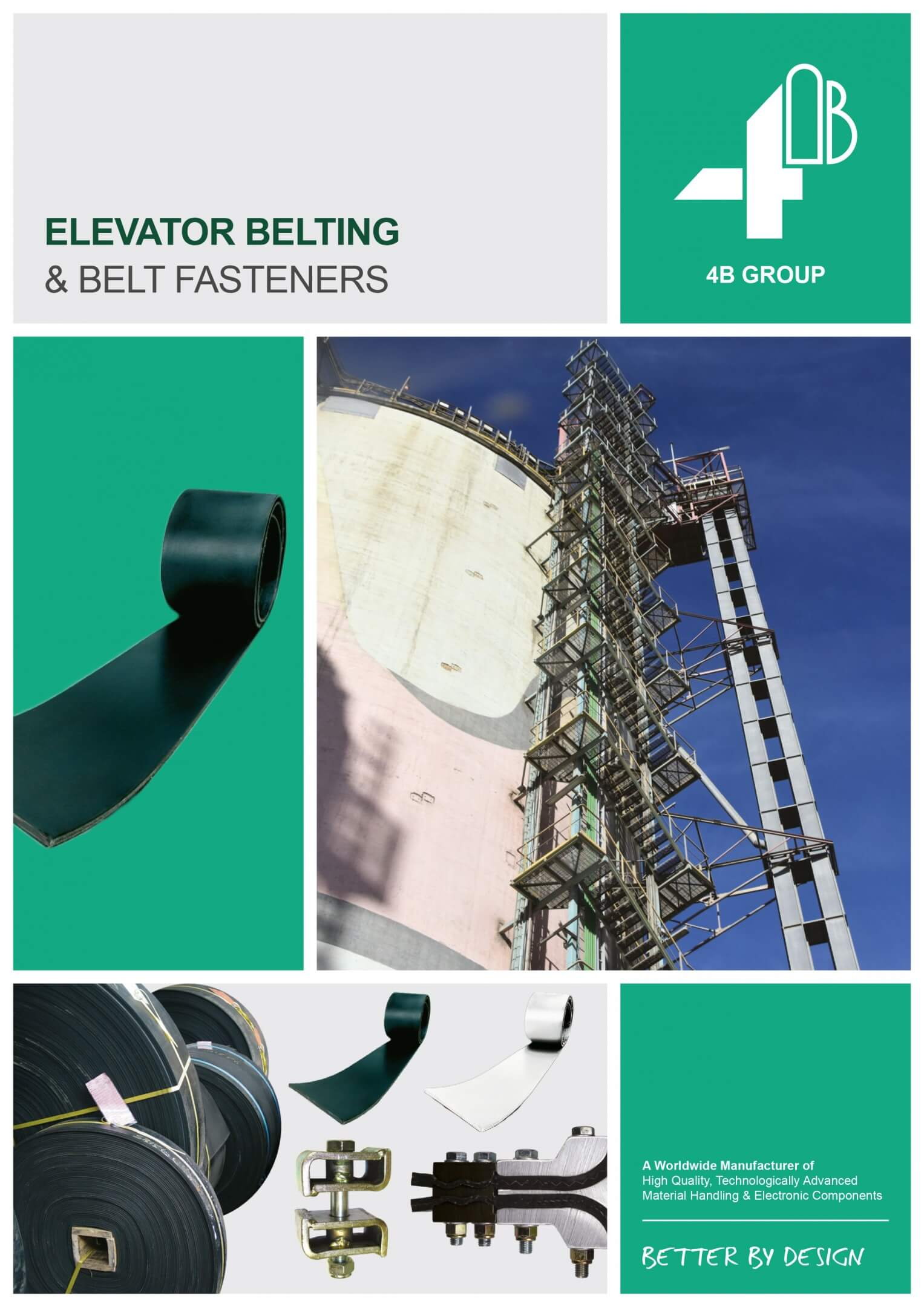 4B elevator belting catalogue