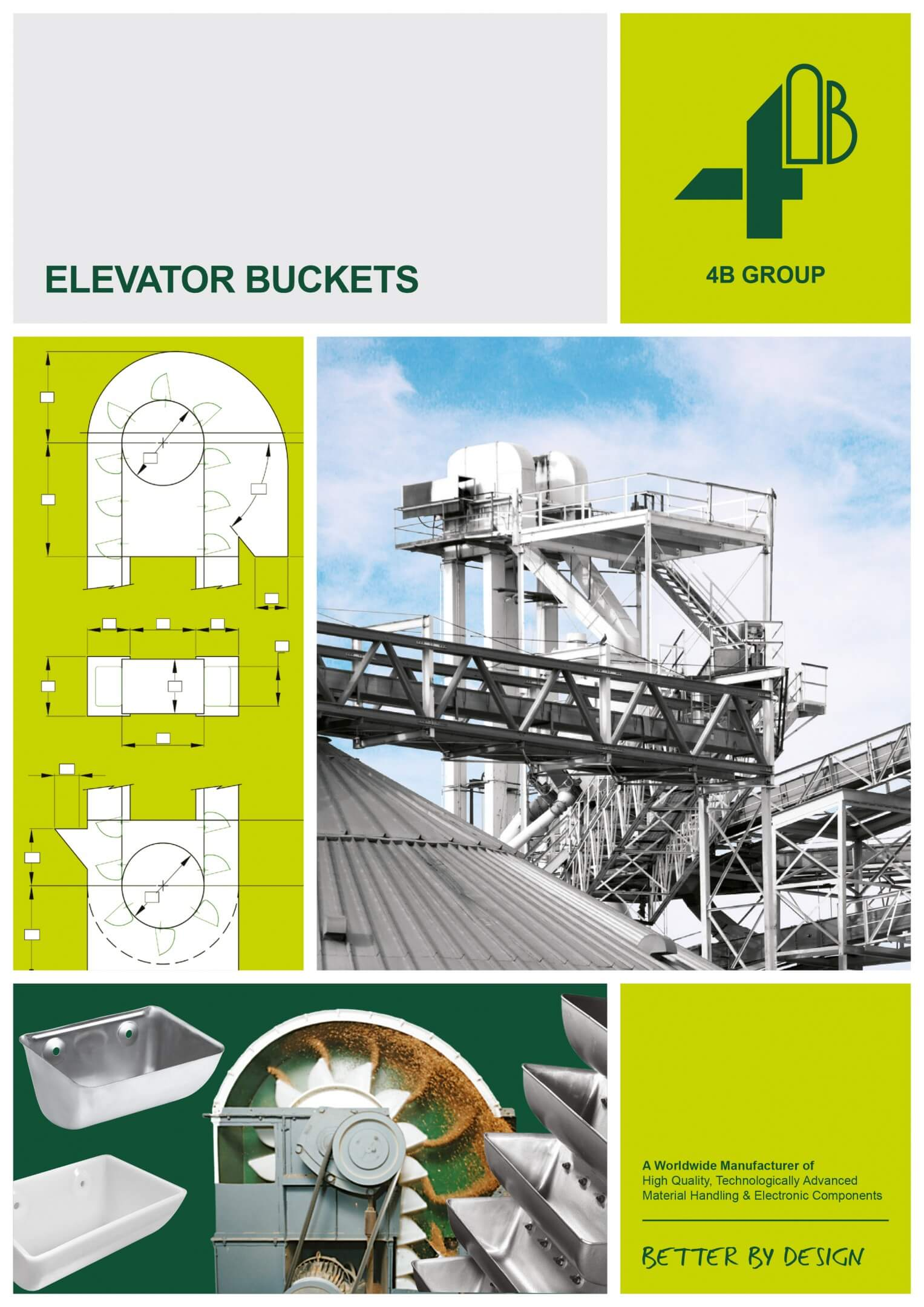 4B elevator buckets catalogue