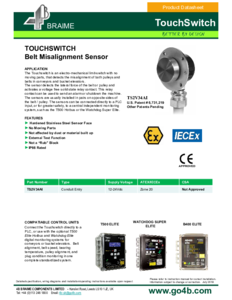 Product Datasheet - Touchswitch - TS2V34AI