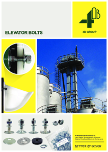 Full Line Catalogue - Elevator Bolts