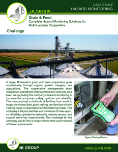 Case Study: Hazard Monitoring for Multi-Location Grain Cooperative