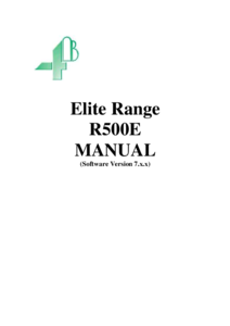 Product Manual - R500 Elite (V7.1.X)