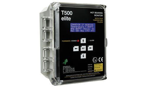T500 Elite Hotbus™ elevator & conveyor monitoring system
