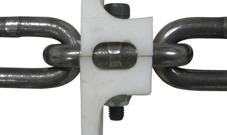 Bolt 'n' Go Round Link Chain - close-up from top