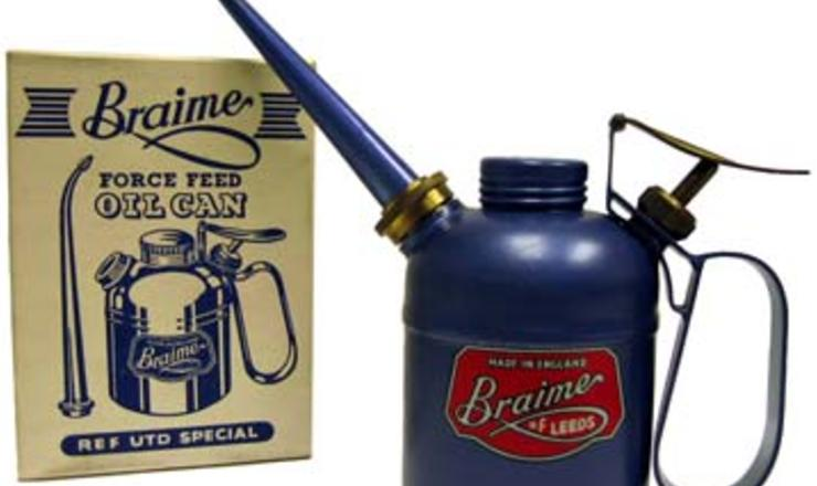 Braime oil cans